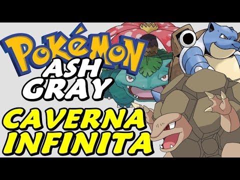 Pokémon Ash Gray (detonado - Parte 27) - A Caverna Infinita video