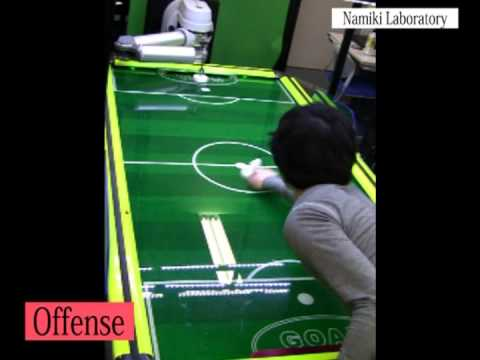 Namiki Lab's air-hockey robot