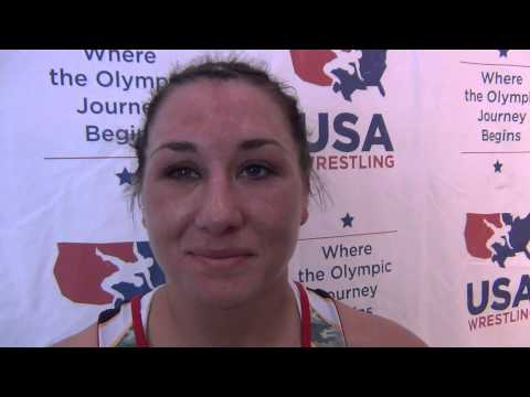 Sharon Jacobson, 55 kg women's Semis winner at U.S. Open