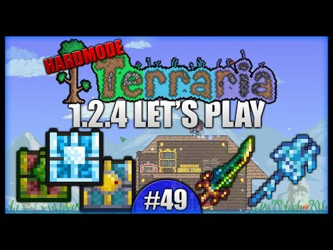 Terra Blade! Dungeon Chests! Making Mannequins! || Let's Play Terraria 1.2.4 [Episode 49]