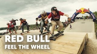 Skateboarding Meets Four-Cross Racing - Red Bull Feel the Wheel