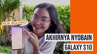 Hani On Tech: Jajal Kamera Samsung Galaxy S10 di Rooftop Senayan
