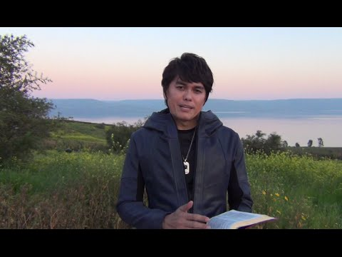 Joseph Prince - Walk In Greater Faith And Victory (recorded On Location In Israel) - 15 Mar 15 video