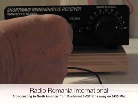 Shortwave Regenerative Receiver-QRPKits Scout