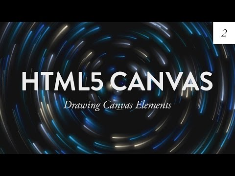 Drawing On the Canvas | HTML5 Canvas Tutorial for Beginners  - Ep. 2