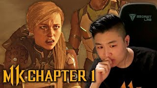Mortal Kombat 11 Let's Play Chapter 1 - I'm Not Crying... (Cassie Cage)