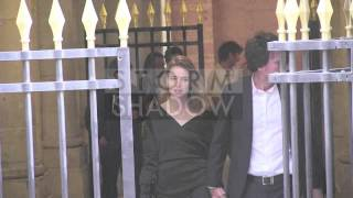 Natalia Vodianova and her husband Antoine Arnault at Bono medal award in Paris