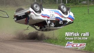 Nilfisk ralli 2014 F-cup (crashes & action)