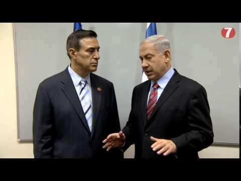 PM Netanyahu w/ Congressman Darrell Issa