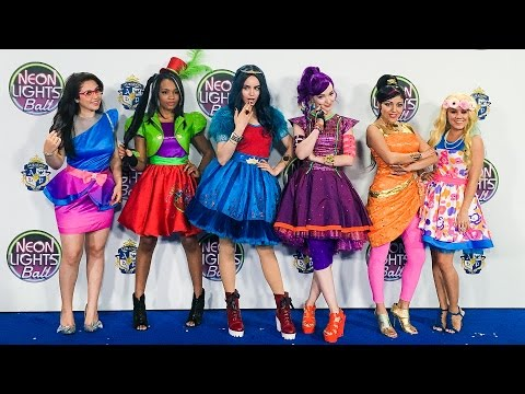 My First Acting Experience: Disney Descendants Neon Lights Ball!