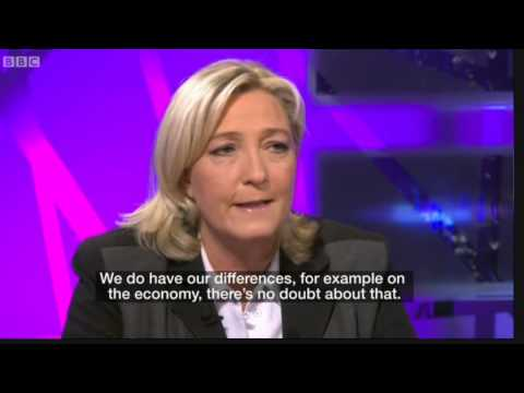 Marine Le Pen on Muslims and Nigel Farage