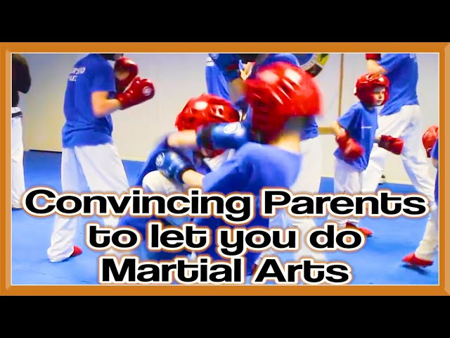 How to Convince Parents to let you do Martial Arts?   GNT Q&A