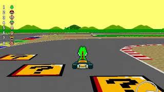 New Super Mario Kart - 100cc Star Cup (Unlocking Rosalina)