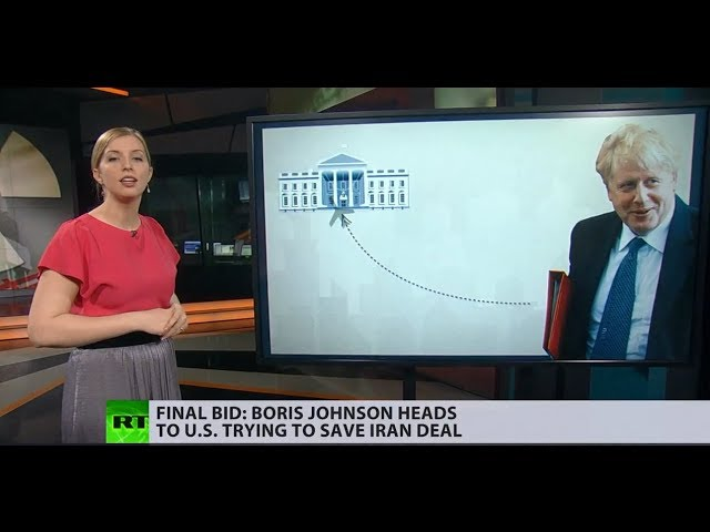 3rd time's a charm: Boris Johnson - last hope for saving Iran nuclear deal?