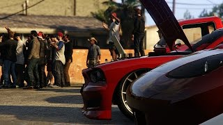 GTA 5 Online Car Meet And Cruise