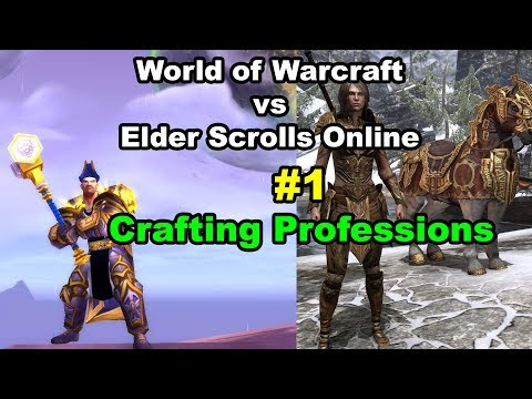 World of Warcraft vs Elder Scrolls Online #1 Crafting Gear