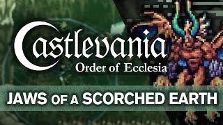 Castlevania: Order of Ecclesia - Jaws of a Scorched Earth (Cover)
