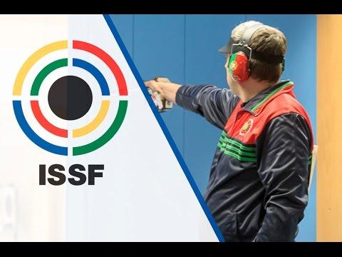 Finals 50m Pistol Men - 2015 ISSF Rifle and Pistol World Cup in Munich (GER)