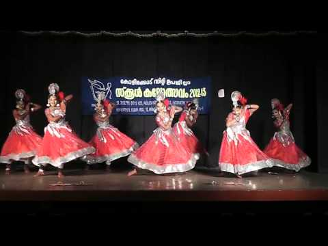 53th Sub District School Kalolsavam Group Dance By Abhishma & Party video