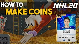 How to make coins in NHL 20 HUT