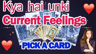 TAROT CARD READING - KYA HAI UNKI CURRENT FEELINGS ?क्या है उनकी CURRENT FEELINGS ? PICK A CARD
