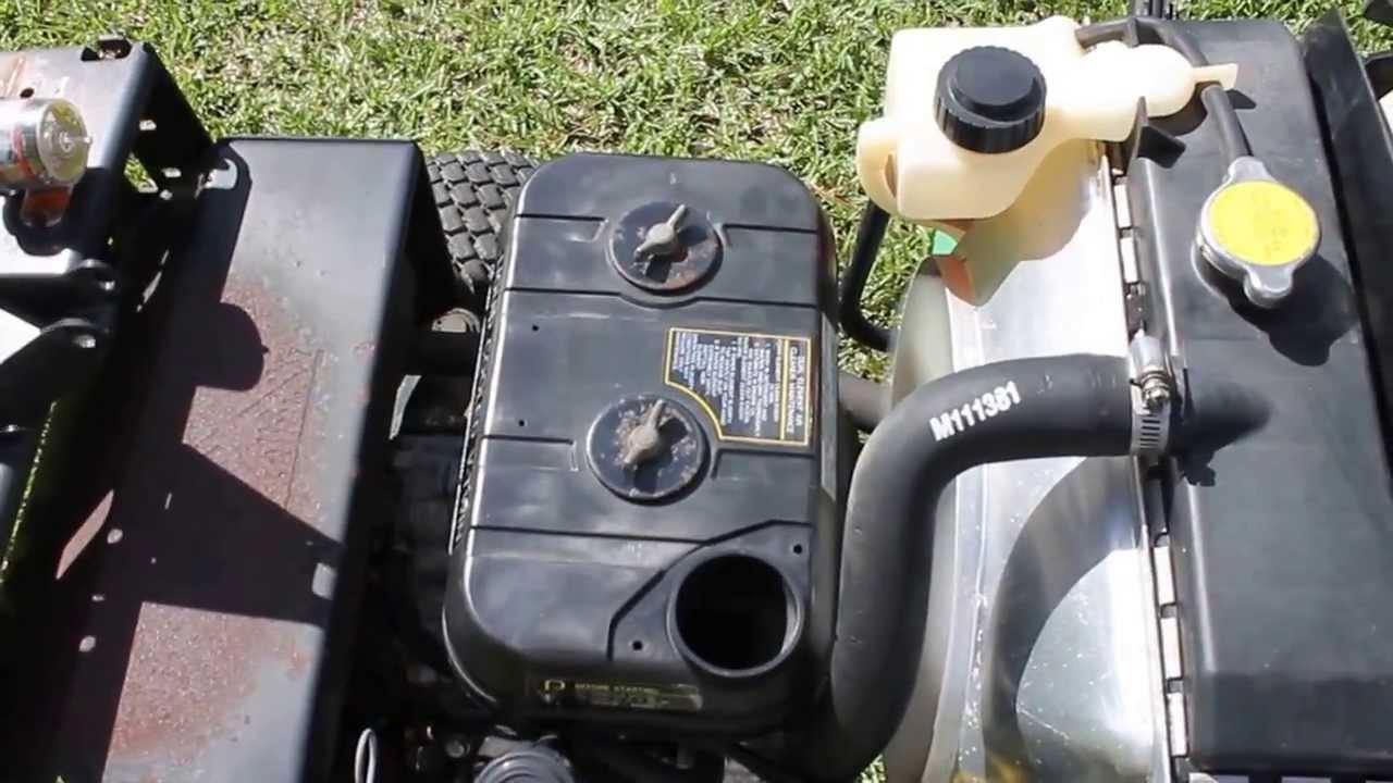 Hp Kawasaki Carburetor Adjustment
