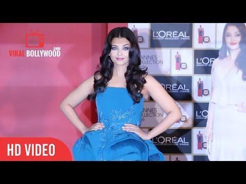 Gorgeous Aishwarya Rai Bachchan At Loreal Cannes Collection 2016