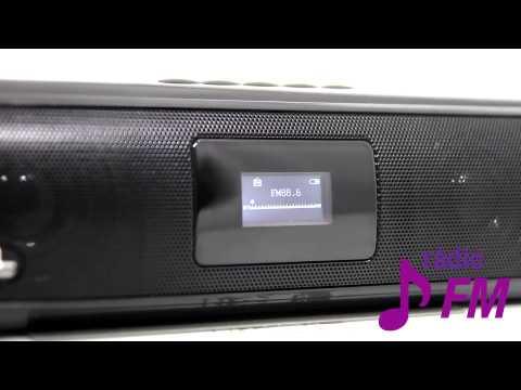 Som Portátil MP3 Dual Shock - Multilaser