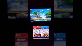 Zero Suit Samus & Palutena vs. Zero Suit Samus & Olimar (Super Smash Bros. for 3DS)