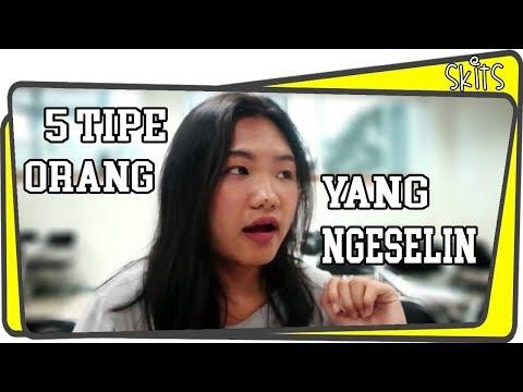 5 TIPE ORANG NGESELIN w/ Elvira Mikaels. // Happy Friends Indonesia