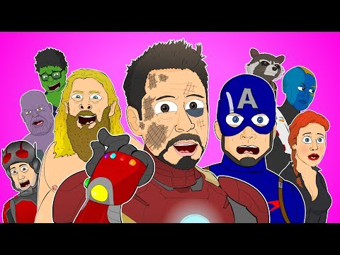 в AVENGERS ENDGAME THE MUSICAL - Animated Parody Song