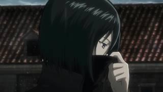 Live Anime Wallpaper (Shingeki no Kyojin) - Eye Water 進撃 🎶 (Mikasa Rain) [HD] 1080p