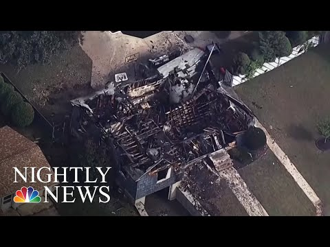 Police Officer Saves Others As His Home Burns In Massachusetts Gas Explosions | NBC Nightly News