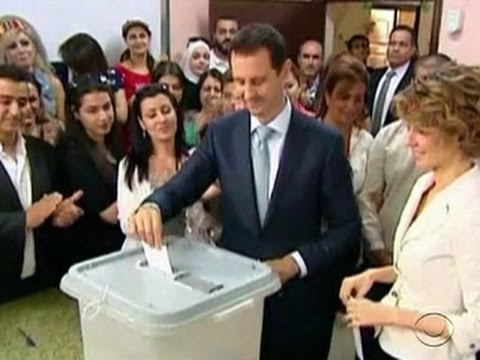 For some in Syria, election marked by bombs, not ballot boxes