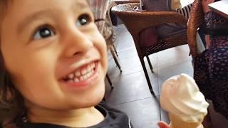 İlayda, İlkkan ve Sude Burger King'te Dondurma Keyfi   Eğlenceli Çocuk Videosu funny kids videos