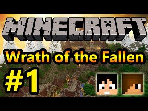 Tackle⁴⁸²⁶ Minecraft Custom Map Wrath of the Fallen #1 มันแค่เริ่มต้น