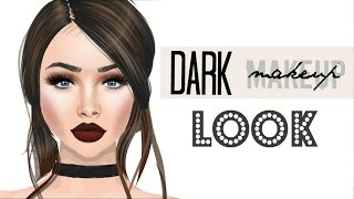 DARK MAKEUP LOOK (Stardoll)