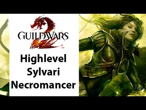► Guild Wars - Guild Wars 2 - High Level Sylvari Necromancer Gameplay - Part 2
