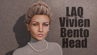 LAQ Vivien Bento Mesh Head in Second Life