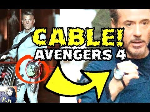 CABLE EN AVENGERS 4 -VENGADORES USAN LOS VIAJES EN EL TIEMPO COMO LOS X MEN -CONEXION FOX-MARV