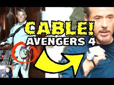 CABLE EN AVENGERS 4 -VENGADORES USAN LOS VIAJES EN EL TIEMPO COMO LOS X MEN -CONEXION FOX-MARVEL