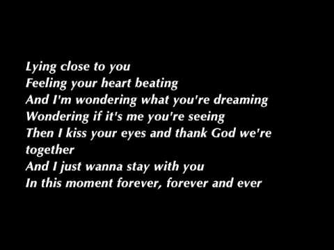 Aerosmith – I Don't Want to Miss a Thing Lyrics | Genius ...