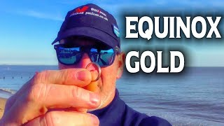 Which Metal Detector Finds More Gold | Minelab Equinox on the Beach