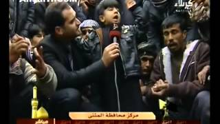 افضل شاعر عراقي واصغرهم في مدح الامام الحسين