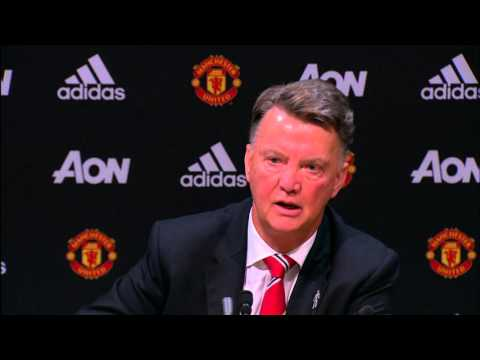 Louis van Gaal talks about Man United's title hopes & beating Arsenal next weekend