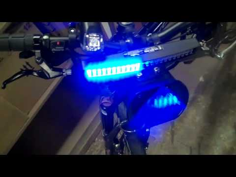 Bike emergency lights