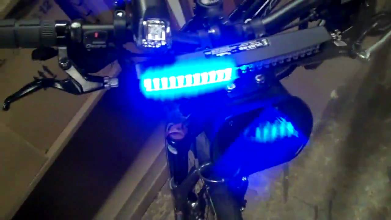 Bike Lights And Sirens Police Bike Patrol LED