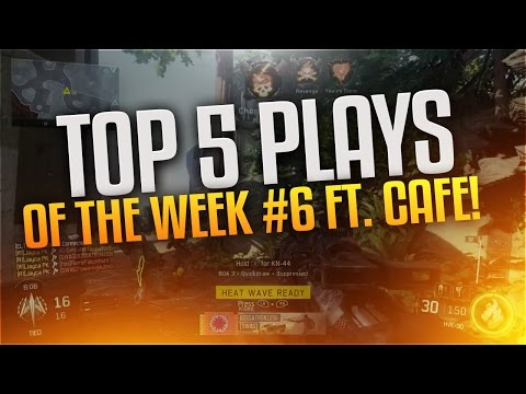 Top 5 Knifing Plays of the Week #6 ft. Cafe!