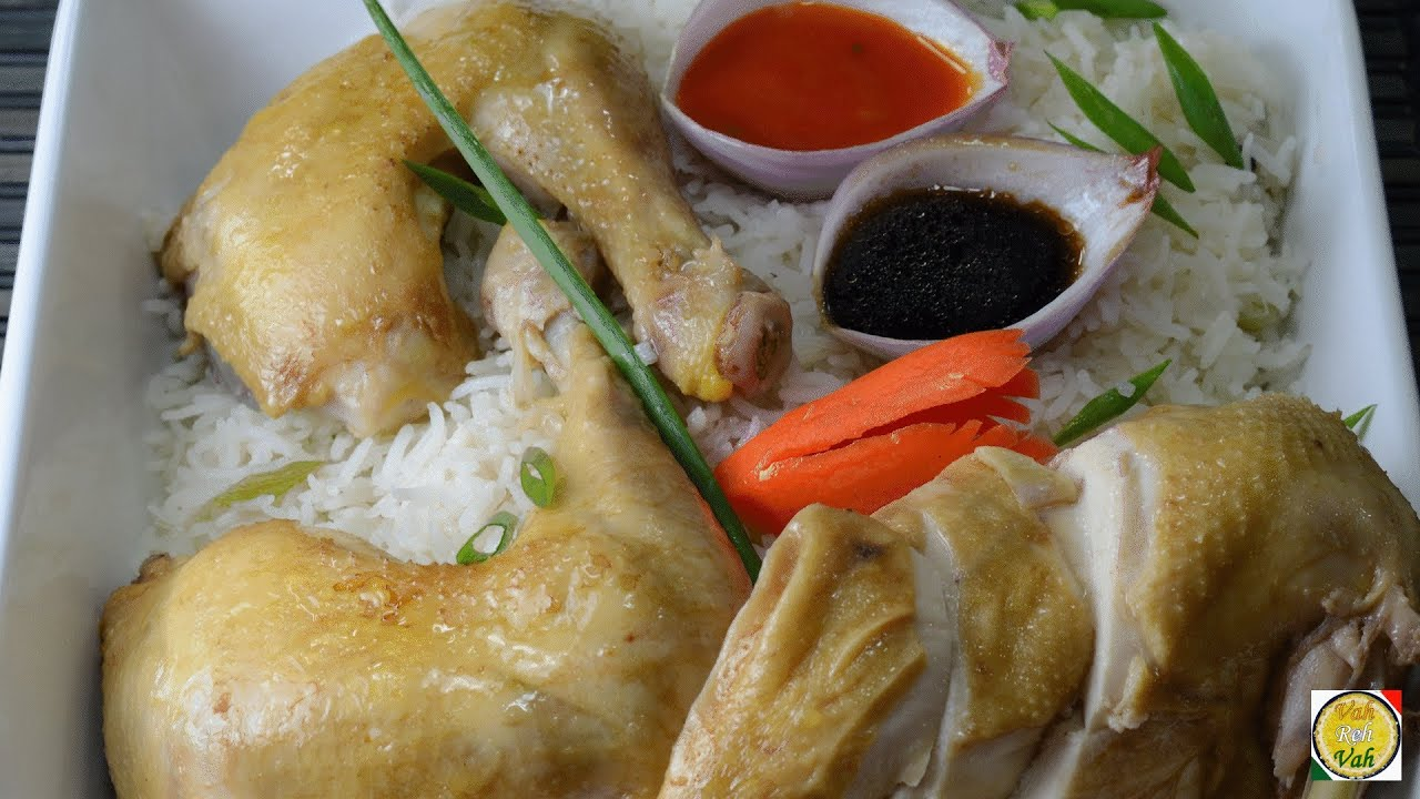 Singapore Chicken Rice - By Vahchef @ vahrehvah.com - YouTube