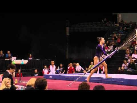 Lexie Priessman - Uneven Bars Finals - 2012 Kellogg&#039;s Pacific Rim Championships